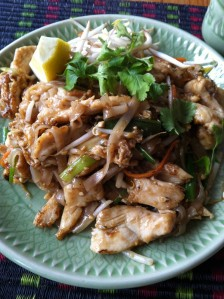 Chicken Pad Thai can make everything right again