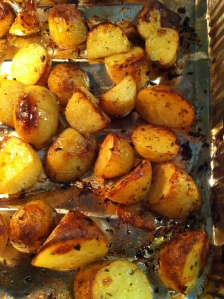 nothing in the world like roasties.