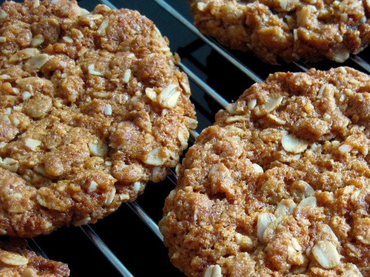 The Anzac biscuit - a national culinary treasure.