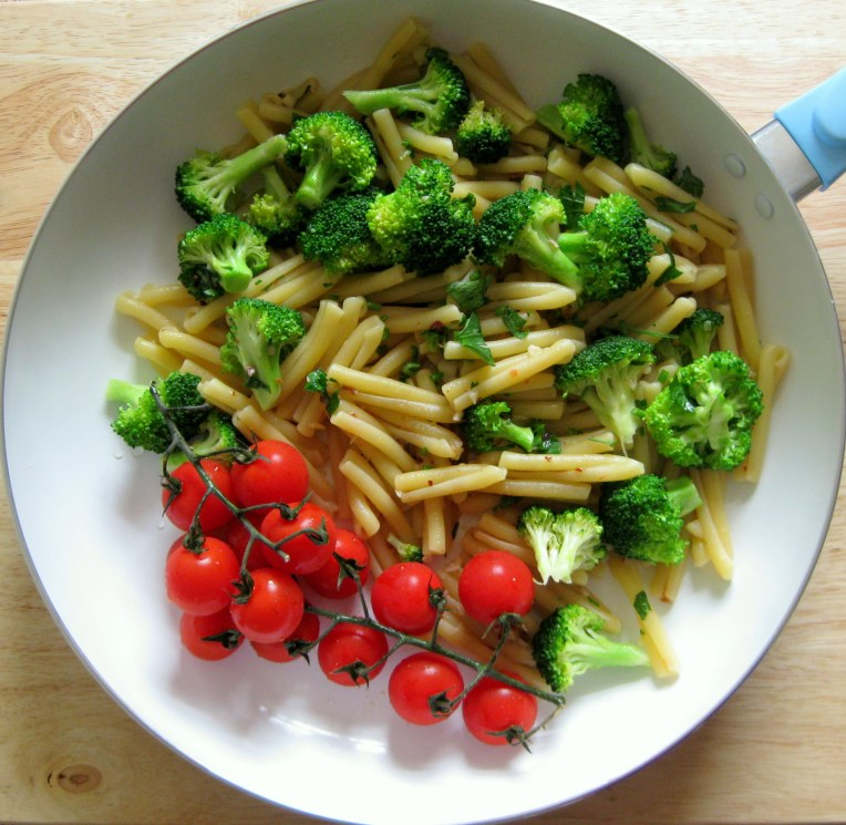 Pasta with broccoli - the perfect spring supper.